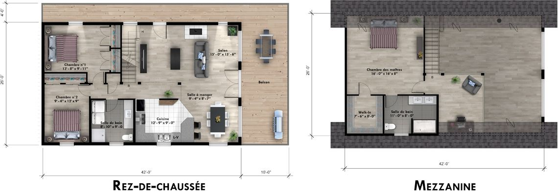 Mohican II Floor Plan